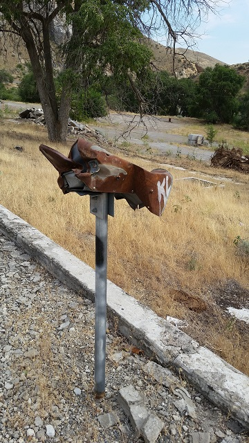 Rusty Old Mailbox   Humble Geneology