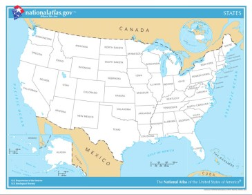 United-States-of-America-State-Name-Map