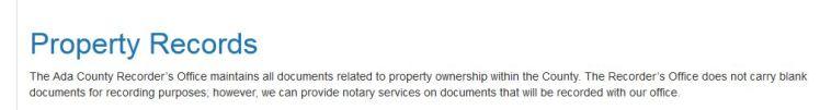PropertyRecords